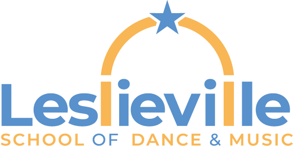 Leslieville school of dance and music logo